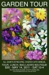 2011 Garden Tour Poster
